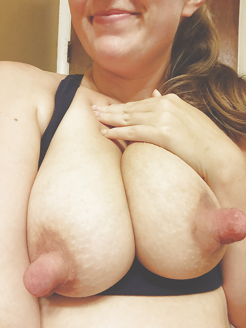 Who Is This Ultra Big Tits And Mega Huge Nipple's Milf