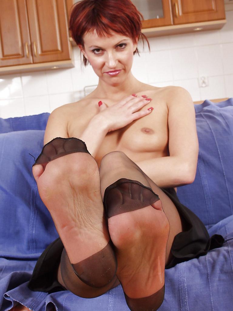 Hairy lady legs
