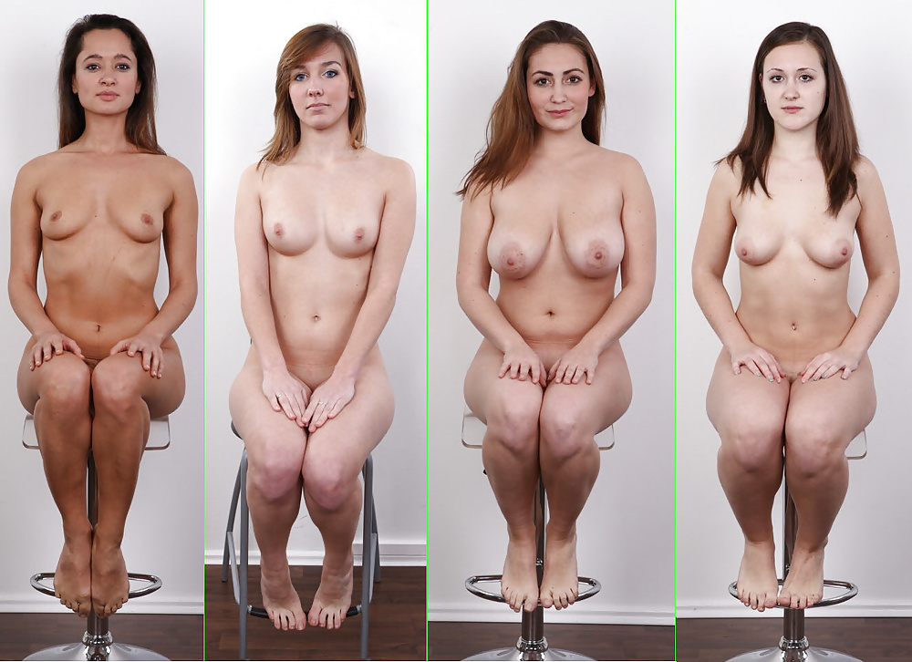 Naked body transformation