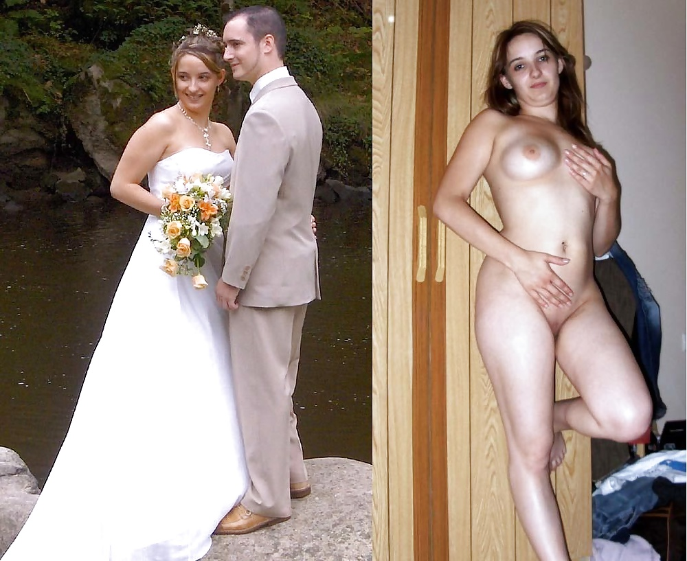 Brides dressed and undressed, free new beeg galery porn photo