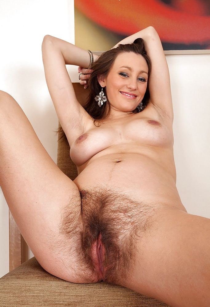 All Natural Hairy Women