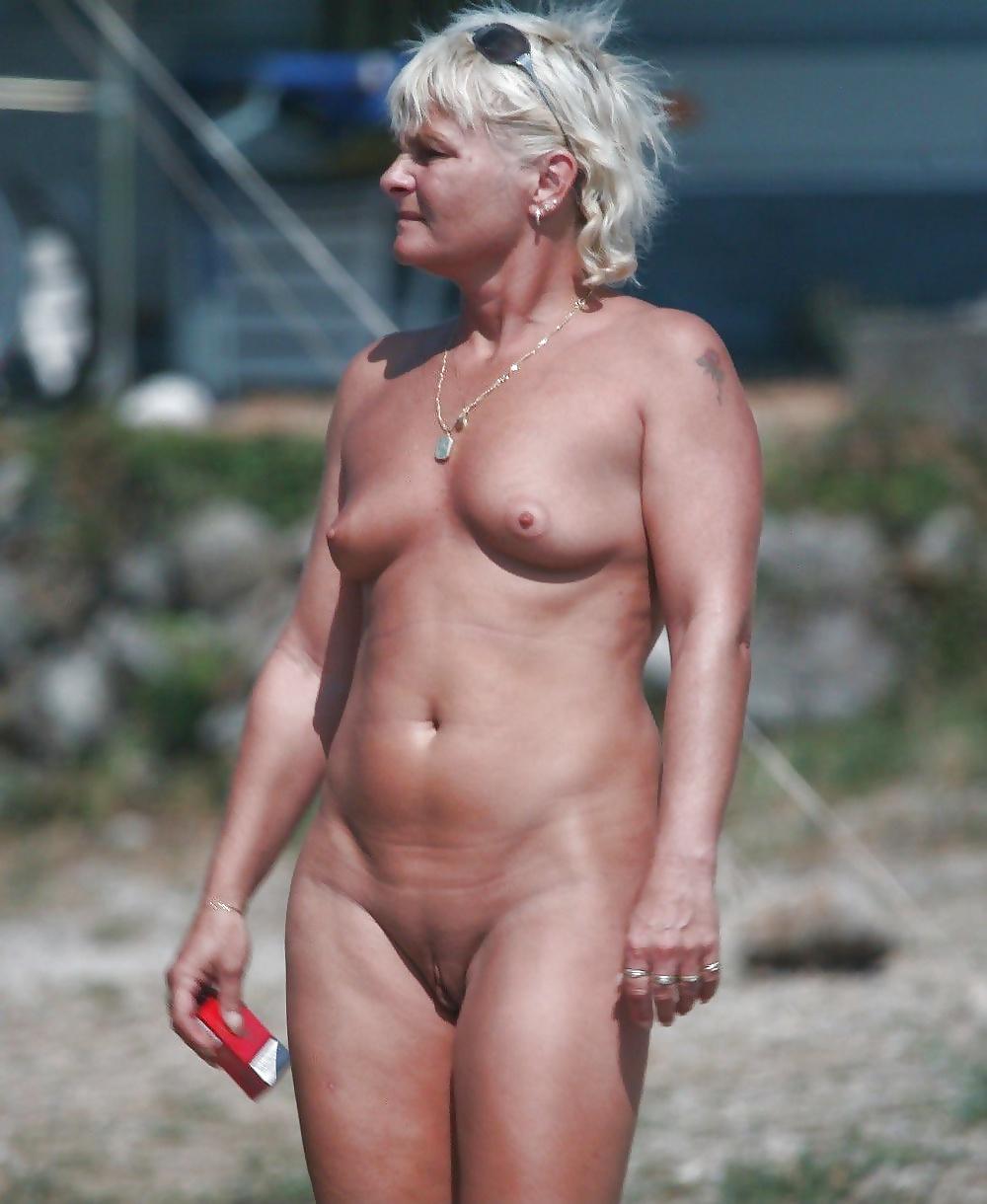 Hot older nudist #10