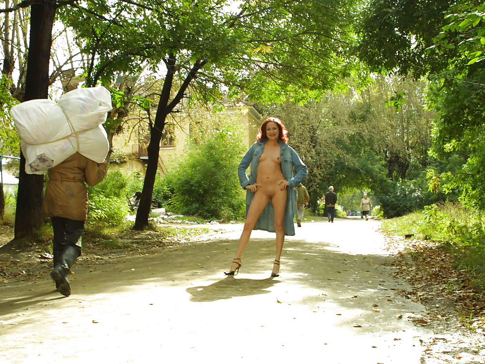 Ann angel gets naughty in the public park