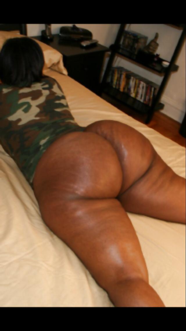 Ebony fat thick black