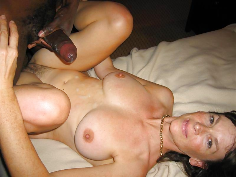 Wife getting fucked by black man while husband is