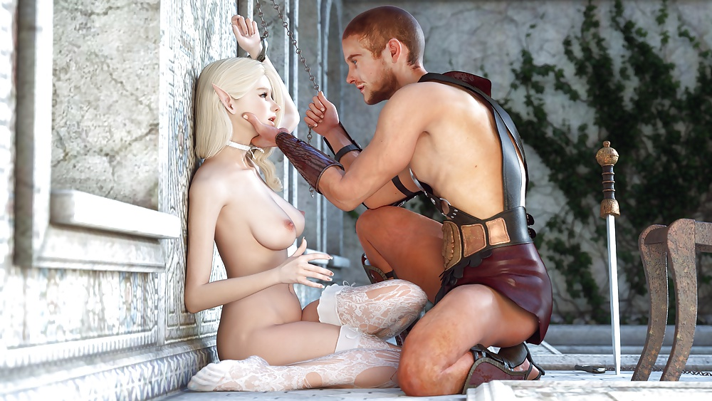 Bald knight visits his beautiful maiden for cowgirl fuck