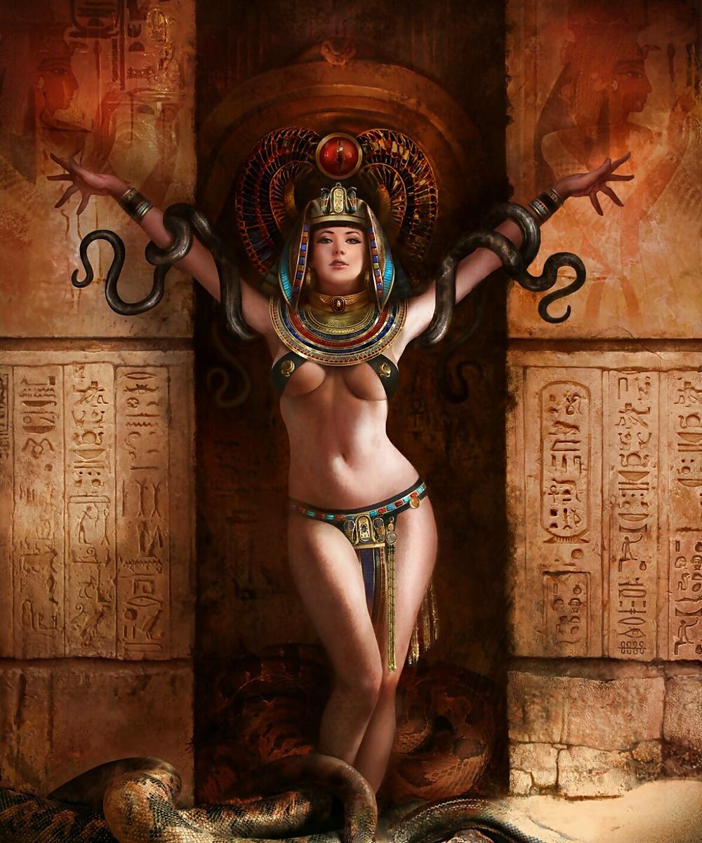 Fantasy Nudes Fairies Sirens Digital Collage Sheet Vintage