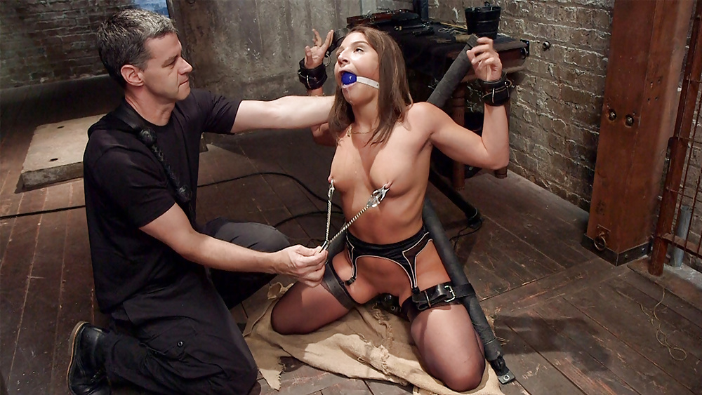 Dominatrix's Slaves Wait On Her Hand And Foot