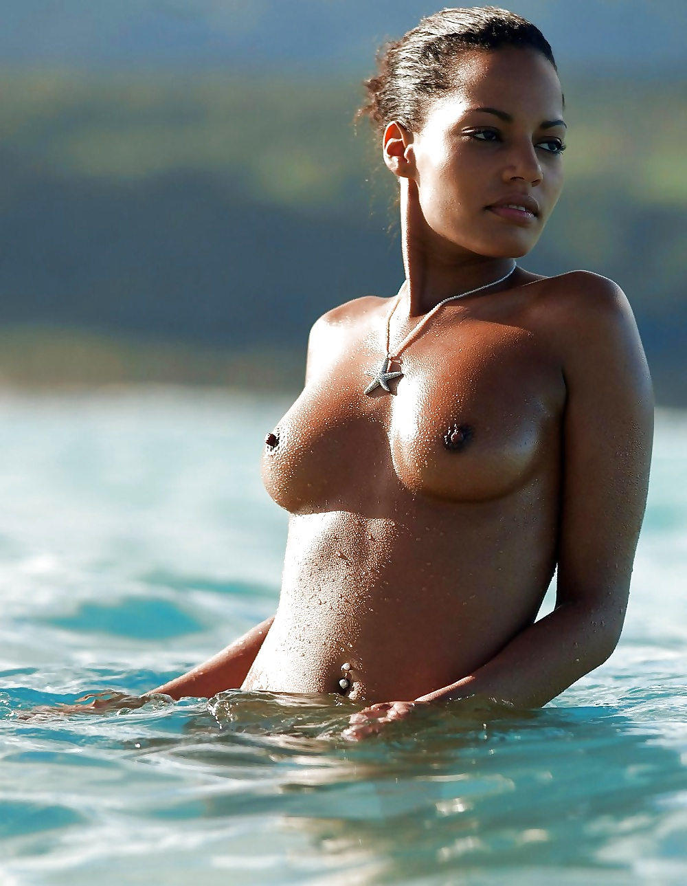 Iceland topless women