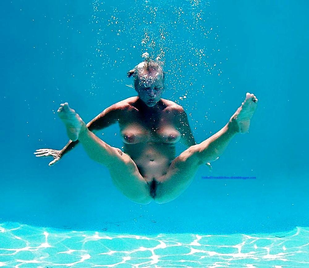 People Strip Off For Nude Ocean Swim