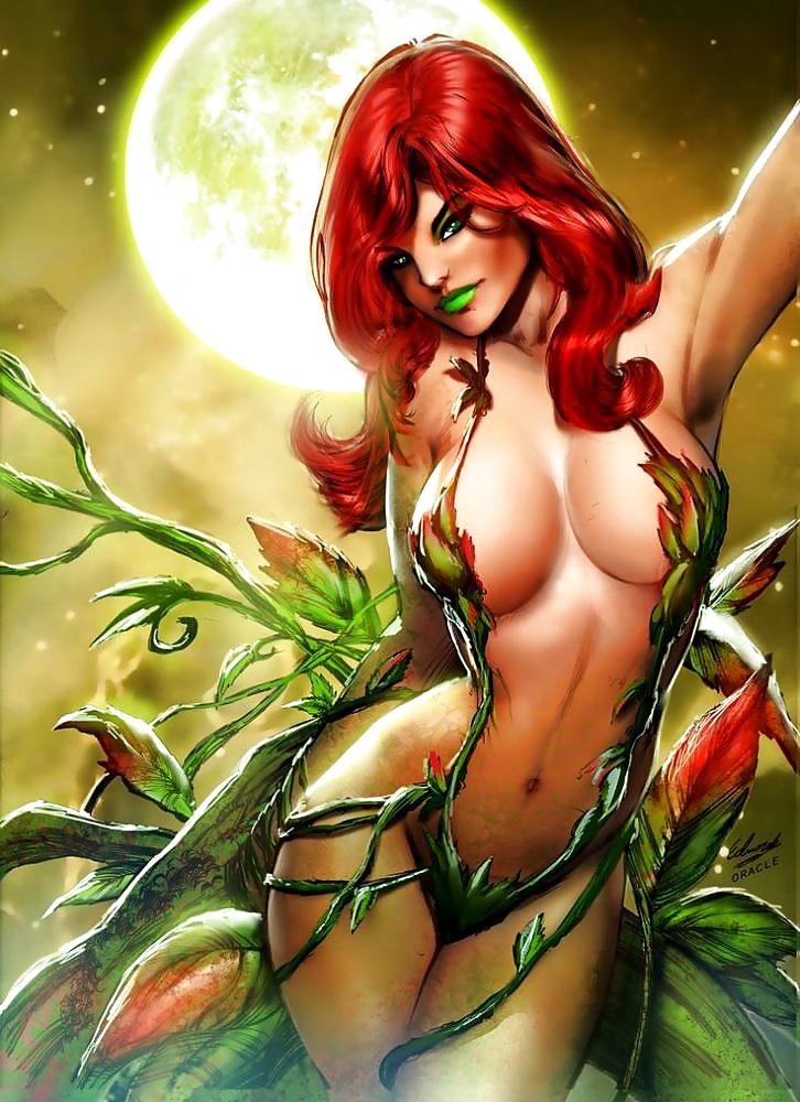 Loghan upskirt poison ivy nude women