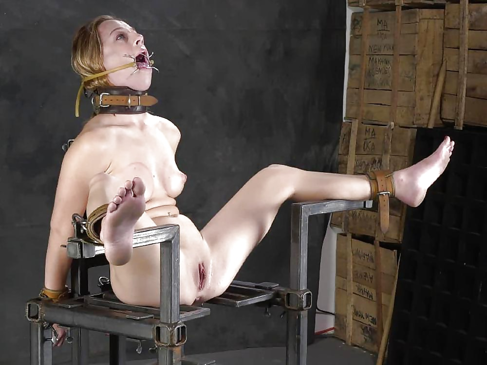 Poor girl gets fucked in breast torture by clips