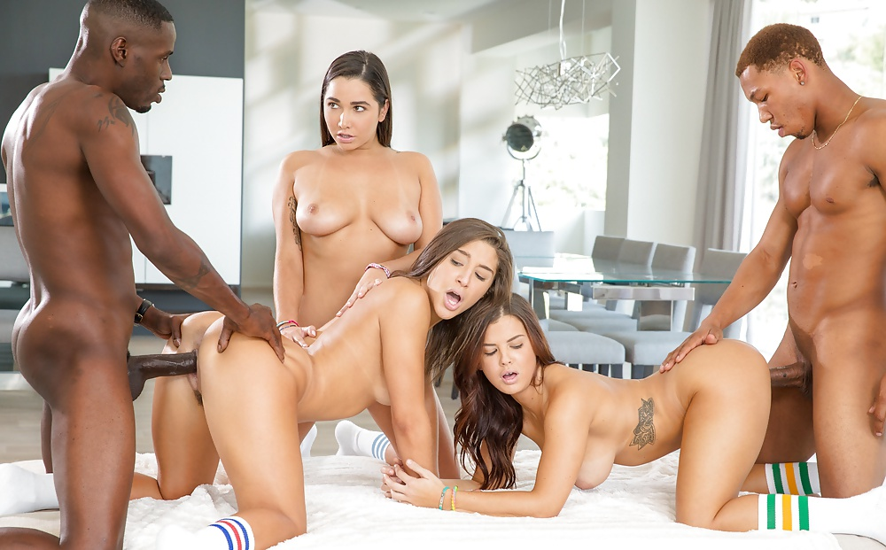 Abella Danger Keisha Grey And Karlee Naked Phat Ass Trueanal 1