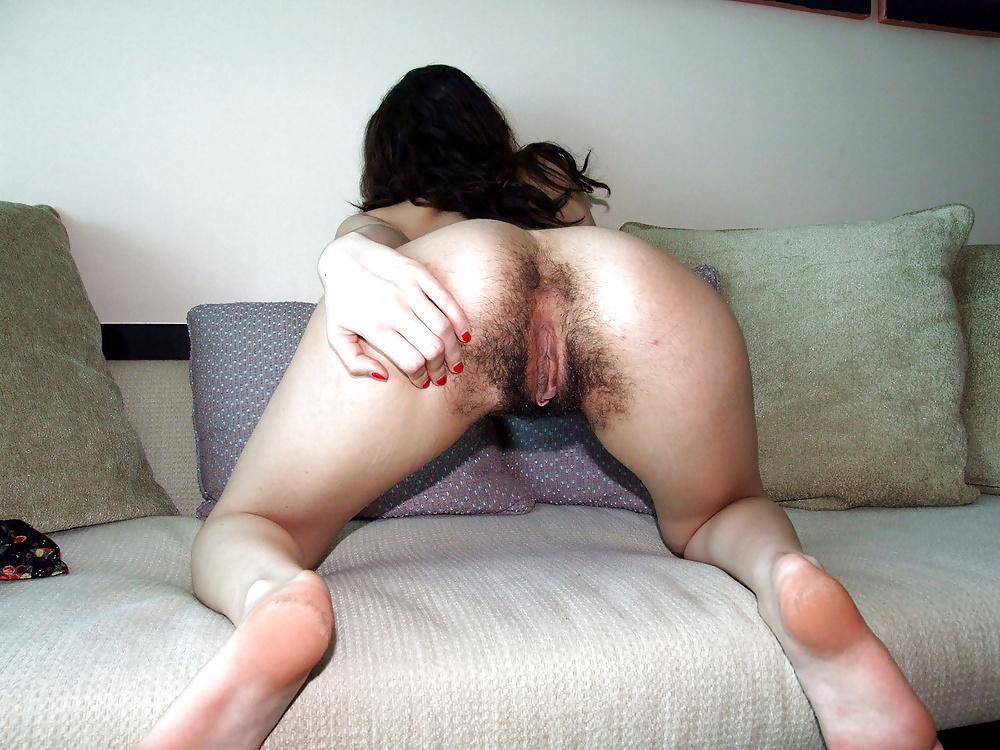 Asian Girl Hairy Butt