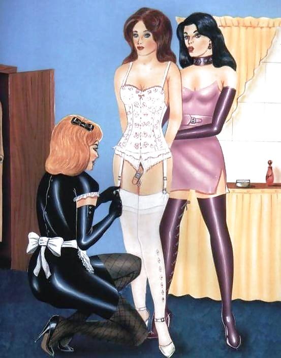 Female domination of husbands forced feminization glasses nude