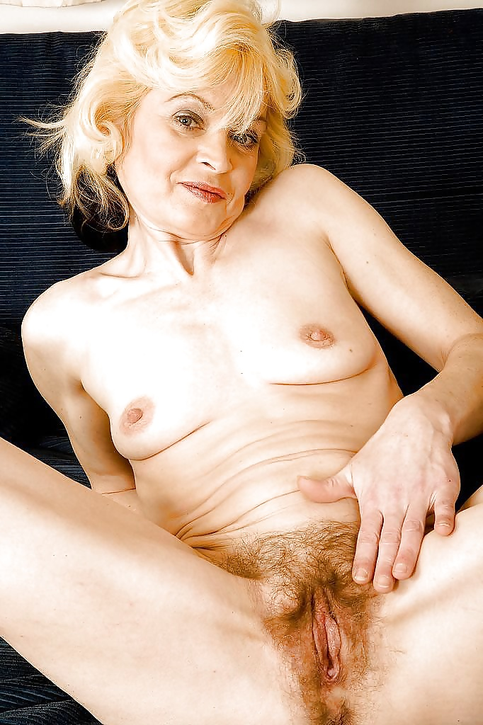 Old hairy blonde