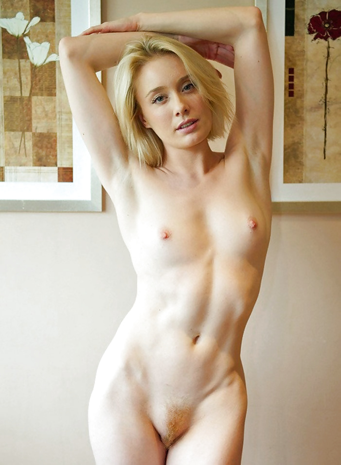 Young hairy small tits solo