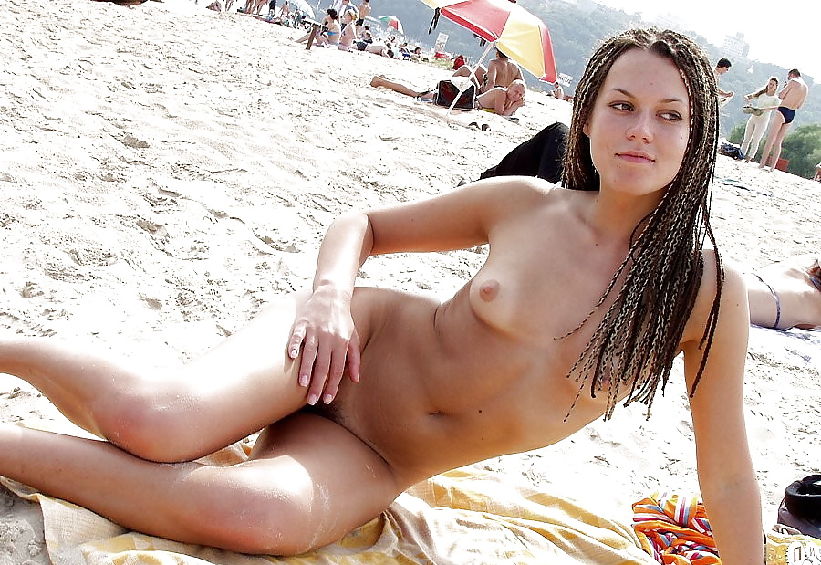 Sense. Nude beach only one naked for that
