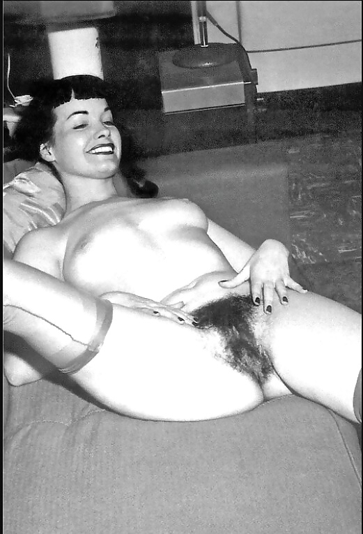 Bettie page nude in color is stunning