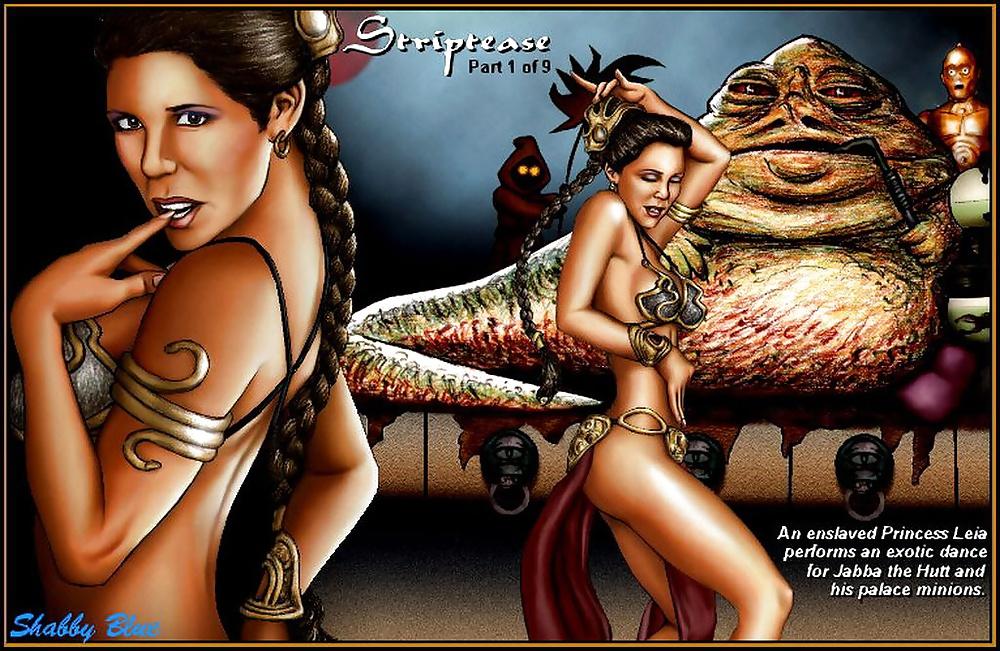 Jabba and slave leia hentai porn