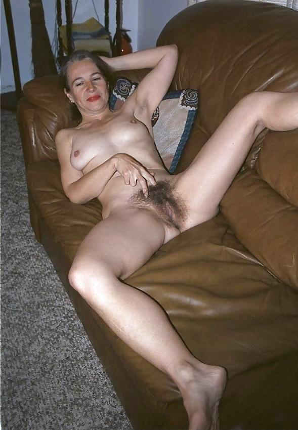 Wild mature hairy wife