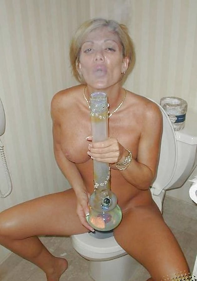 Naked college girls smoking weed like they don care about their