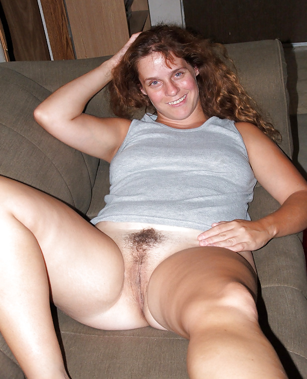 Candid hairy wife