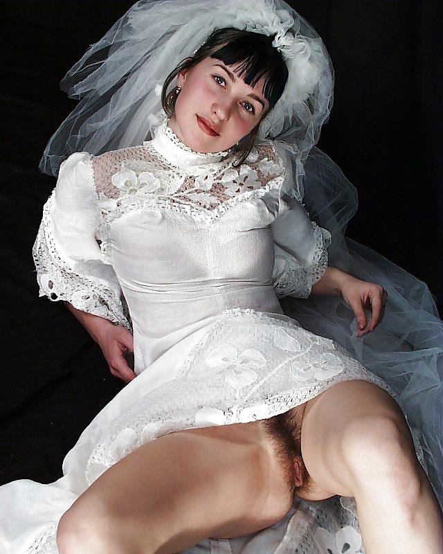 Волосатая киска невесты