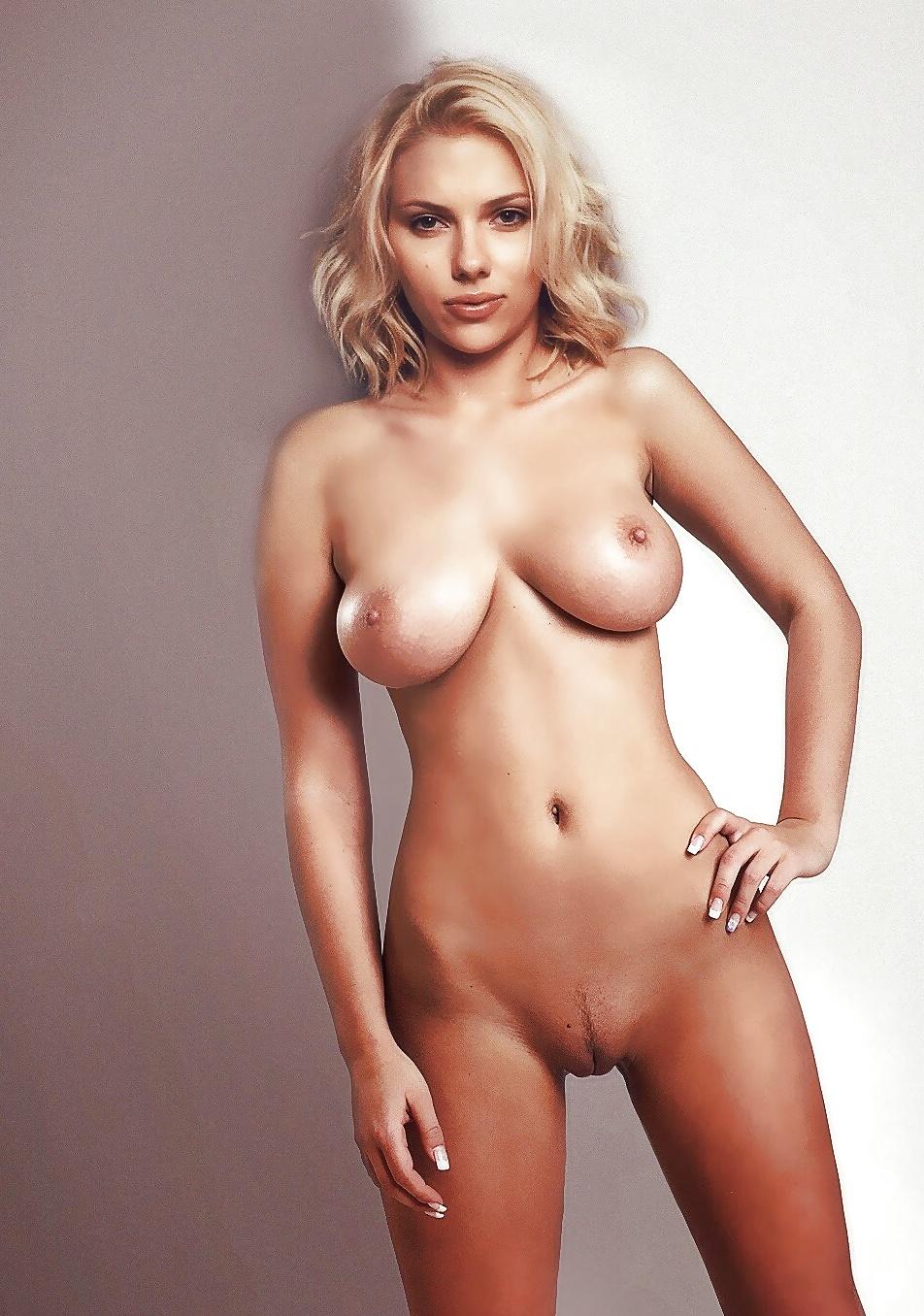 Scarlett Johansson Nude Fakes Blowjob