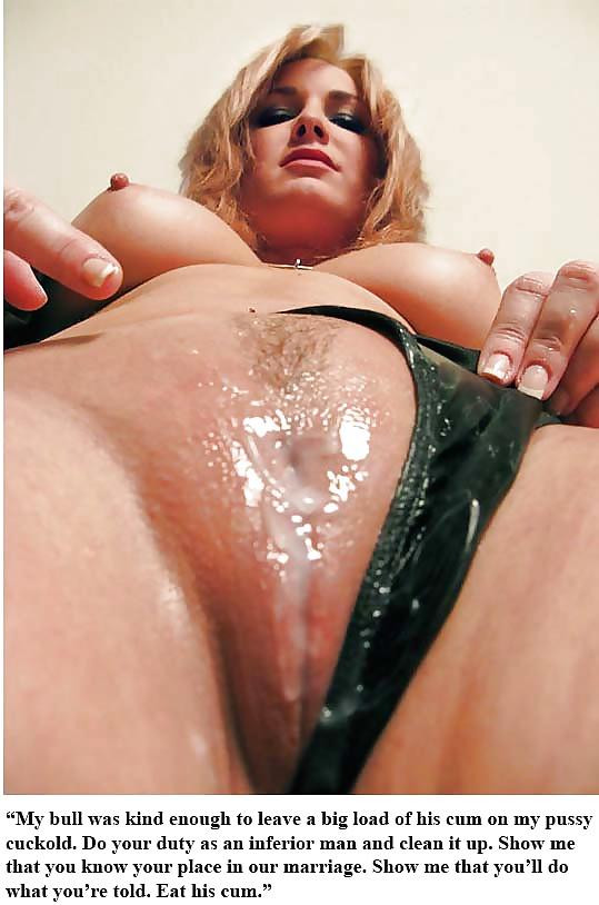 Cuckold Cleanup Porn Pics