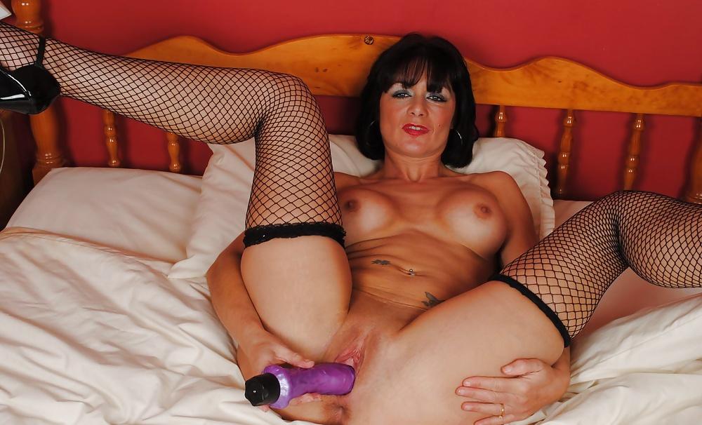 Lesbian milf anally toyed