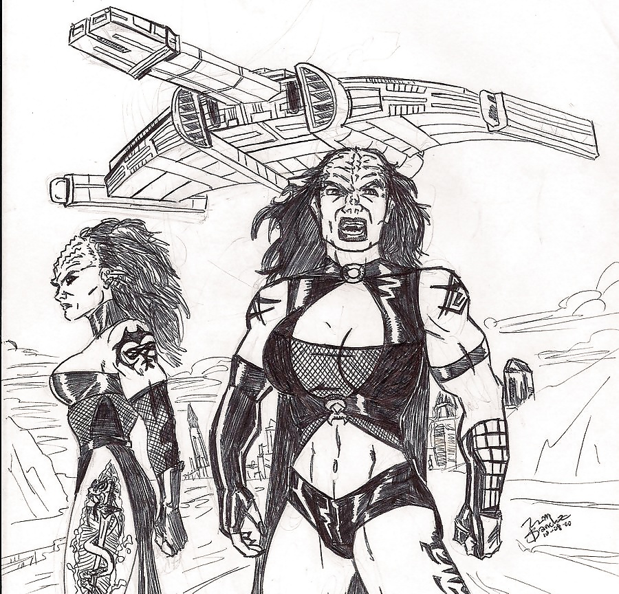 Which Of The Female Aliens In Star Trek
