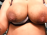 busty pregnant babe with huge natural saggy lactating tits (17)