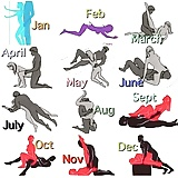 What month were you born ?  (1)