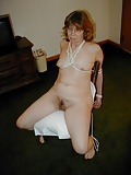 Slave mature wife, totalle naked and exposed by her husband (5)