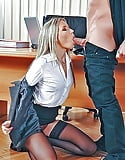 Pornstars with a mouthful of  Cock  (47)