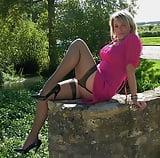 Milf matura con gambe velate (10)