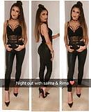 Slutty Paki from London Heels Tight Outfit Chav UK (38)