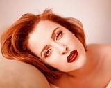 Gillian Anderson E.W. Photoshoot 1996 (Vinatge)  (6)