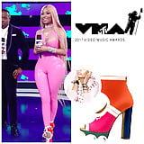 Nicky Minaj Cameltoe at MTV Awards 27 Aug 2017 (7)