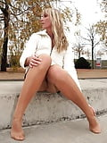 Pantyhosed Legs (42)