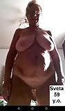 My new ukrainian granny slut Svetlana S. 59 y.o. (9)