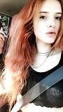 Bella Thorne (Oh Snap) Nipple piercing 9-28-17 (1)