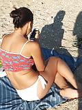 sluts having fun at the beach  (1)
