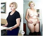 Dressed undressed Milfs and Gilfs  (33)