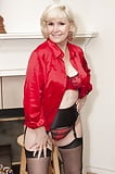 Lola Lee In Red With Black Stockings  (70)
