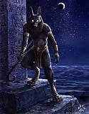 Mythical Creatures 36. Anubis  (9/12)