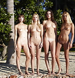 4 gorgeous, gleaming luscious white women (2/12)