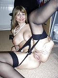 Stockings make a lovely setting for great pussies 10 (11/12)