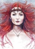 Sansa Stark Lady of Winterfell  (14/50)